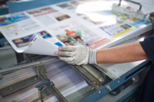 printing marketing materials
