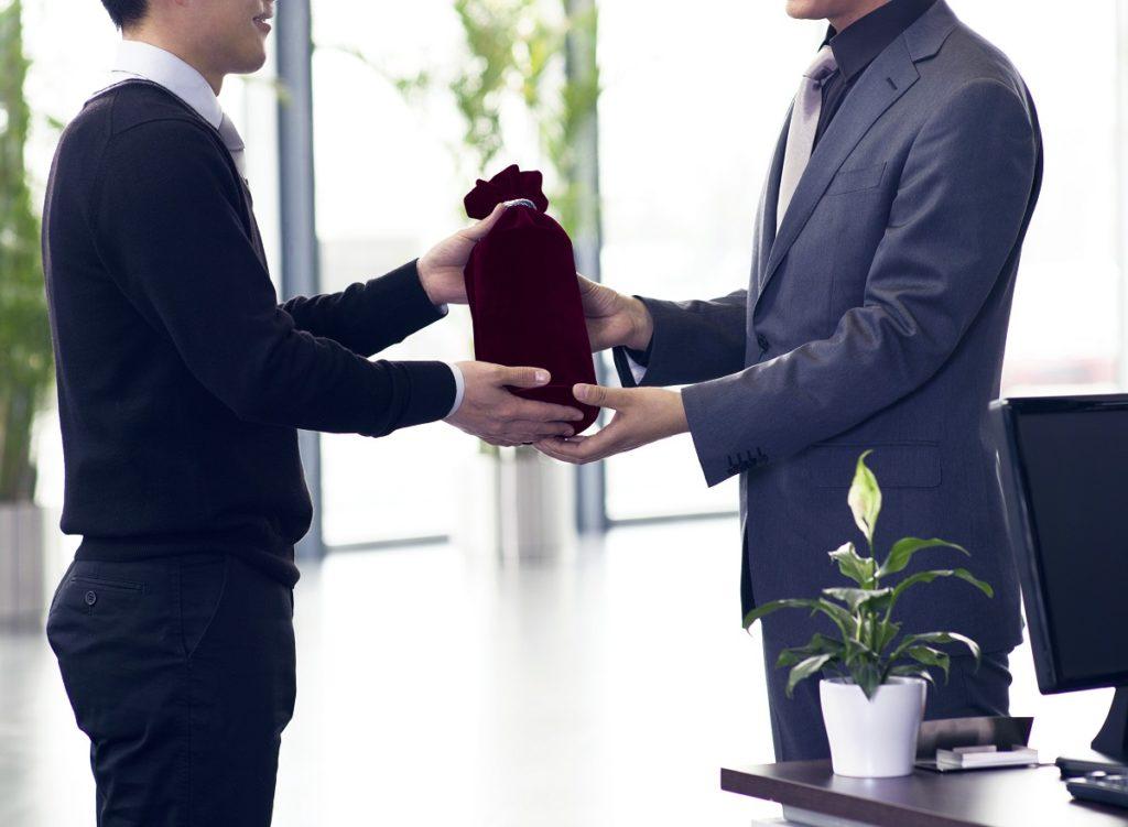 employer giving gift