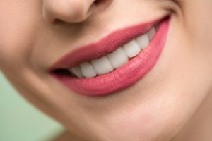perfectly aligned teeth
