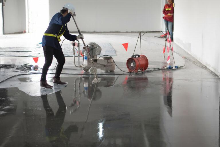 installing a flooring